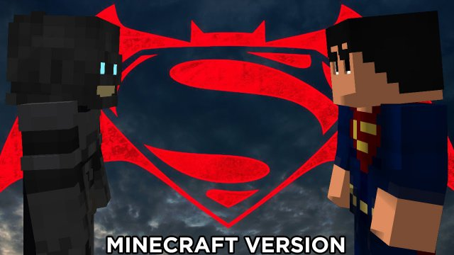 Batman v Superman: Minecraft Version/ Бэтмен против Супермена: Майнкрафт версия